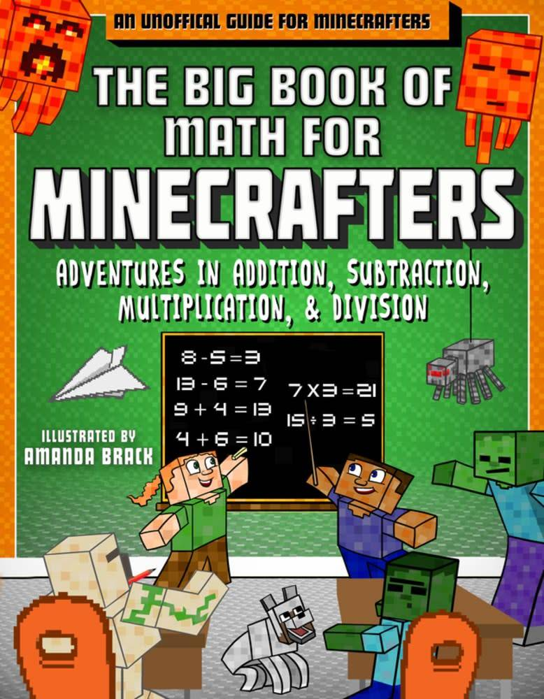 Sky Pony Press The Big Book of Math for Minecrafters