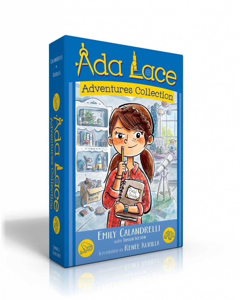 Simon & Schuster Books for Young Readers Ada Lace Adventures Collection