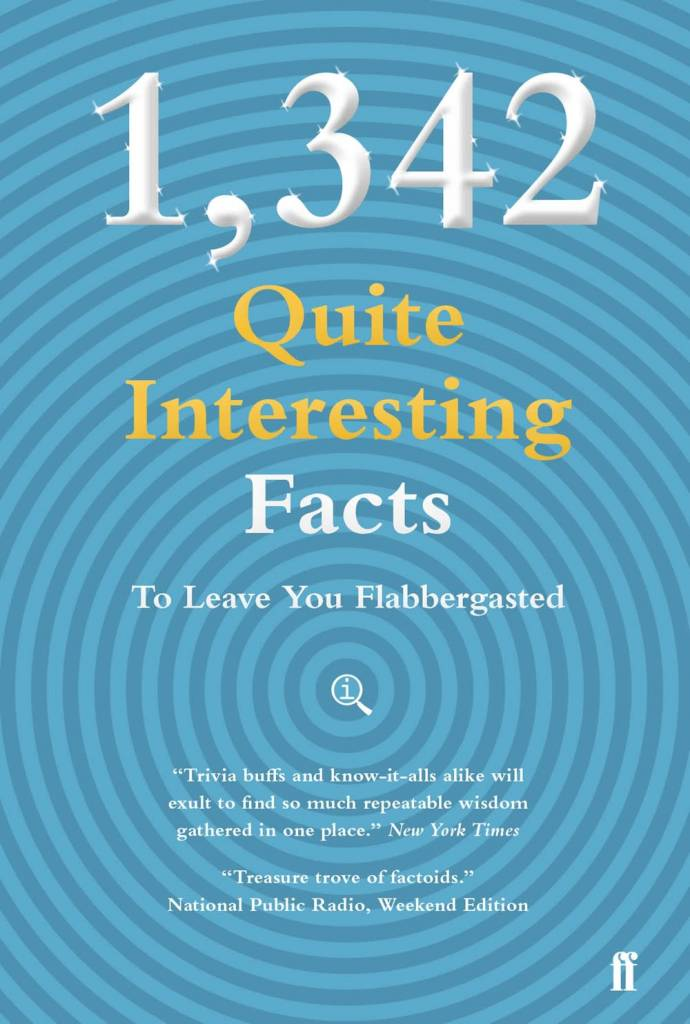 Faber & Faber 1,342 QI Facts To Leave You Flabbergasted