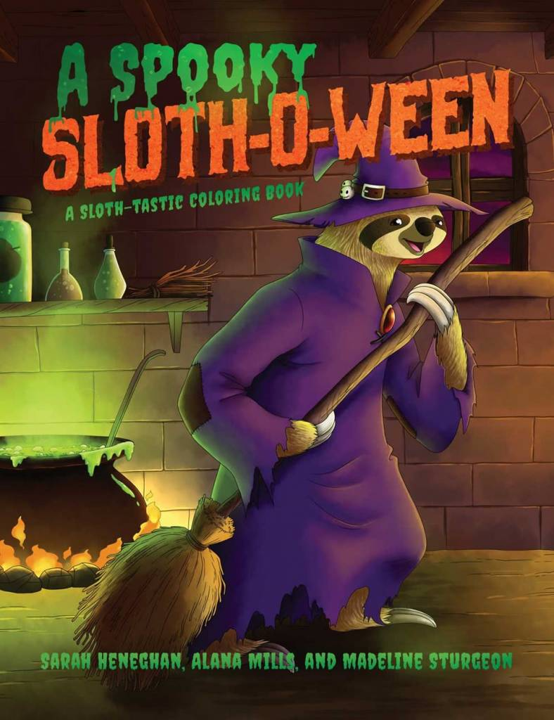 Post Hill Press A Spooky Sloth-O-Ween