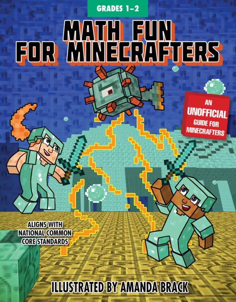 Sky Pony Press Math Fun for Minecrafters: Grades 1–2