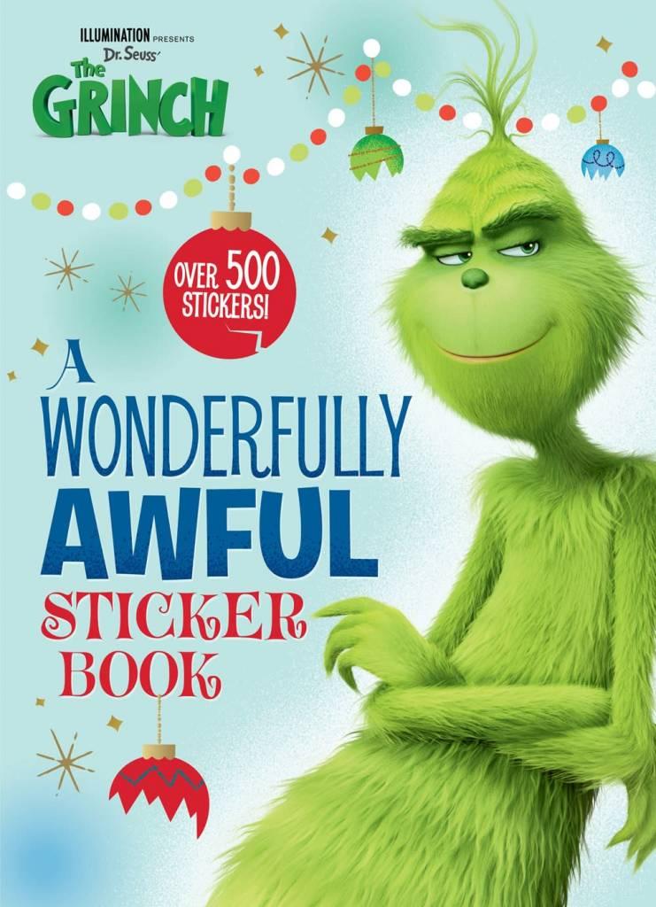 Golden Books A Wonderfully Awful Sticker Book (Illumination's The Grinch)
