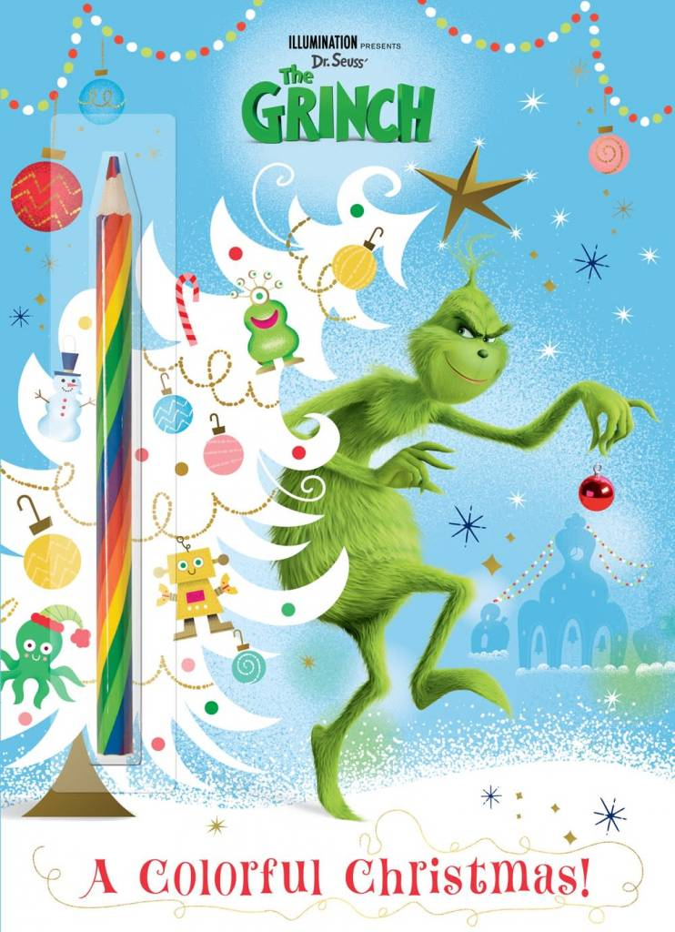Golden Books A Colorful Christmas (Illumination's The Grinch)