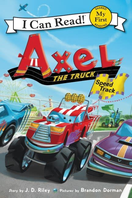 Greenwillow Books Axel the Truck: Speed Track