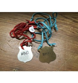 """Wino"" Leather Necklace"