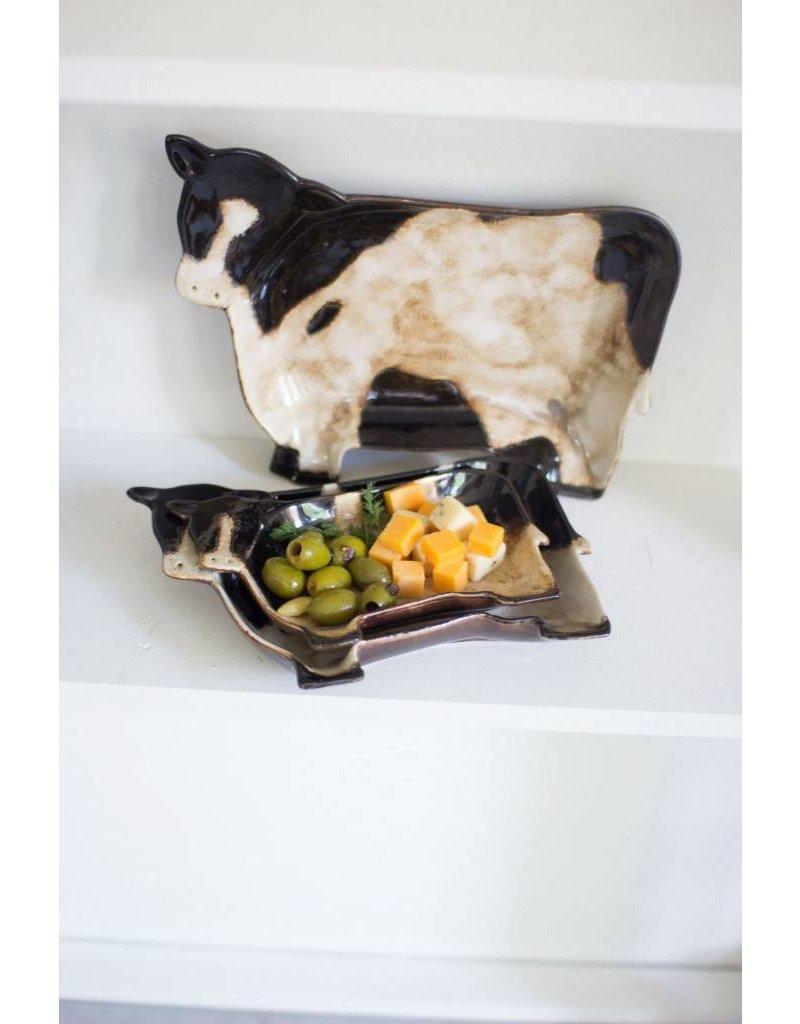Kalalou LG Cow Plate