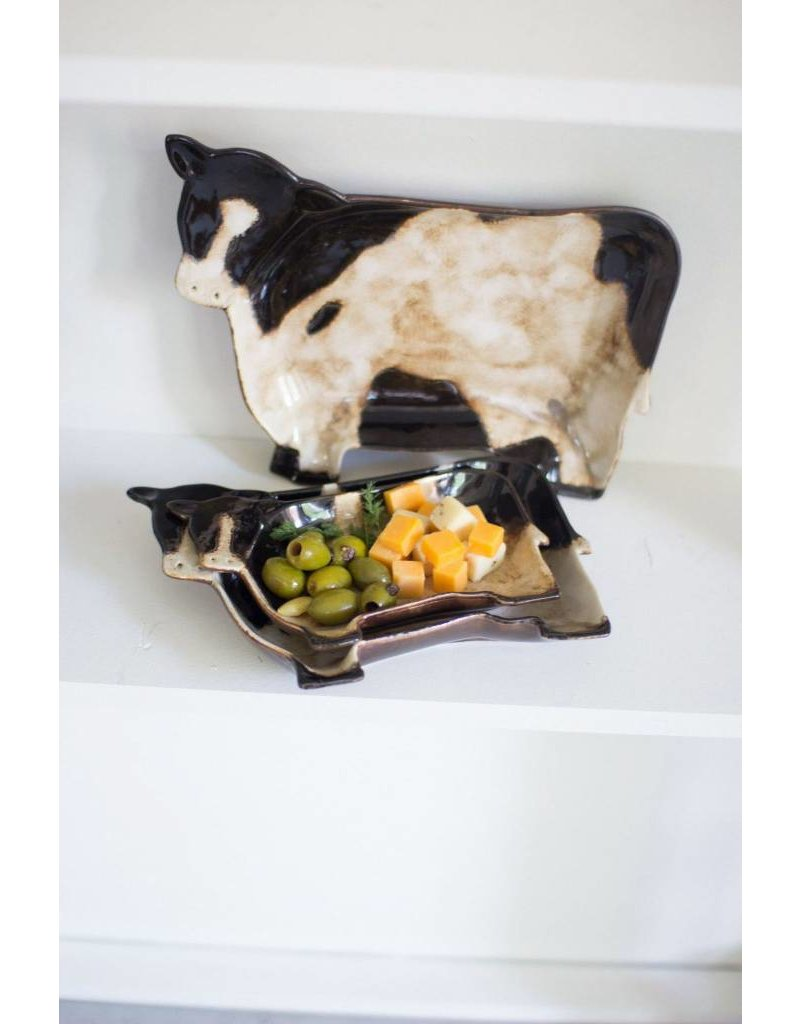 Kalalou Med Cow Plate