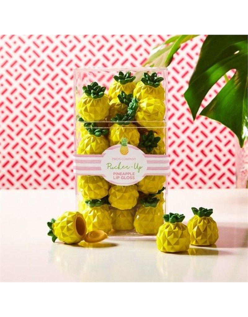 Two's Company 51616 Pineapple Lip Gloss