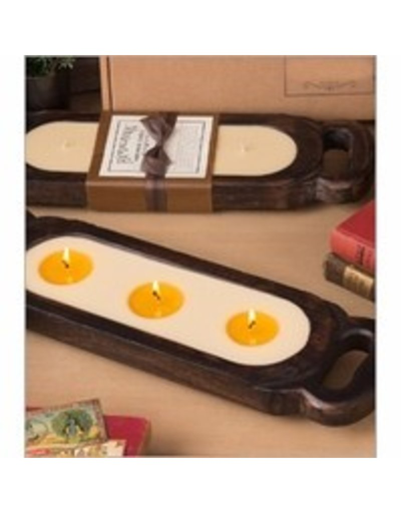 Himalayan Trading Post Small Candle Tray- Unscented