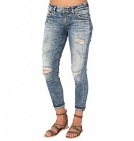 Silver Jeans L27141SC346 Kenni Girlfriend