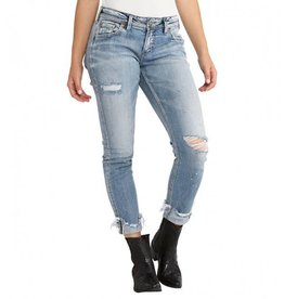 Silver Jeans L27150SJL248 Kenni Girlfriend