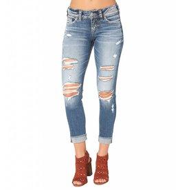 Silver Jeans L43965SJL241 Suki Skinny Crop