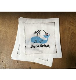 August Morgan Just a Splash Cocktail Napkin (Set of 4)