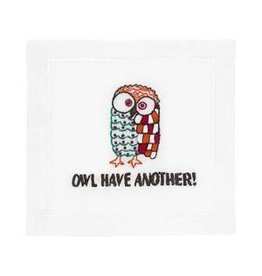 August Morgan Owl Cocktail Napkins