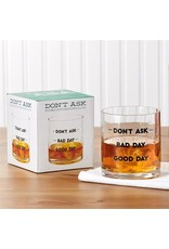 Two's Company Good Day Double Old Fashion Glass