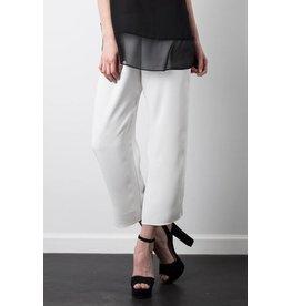 Silk Cropped Pant