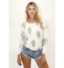 Brokedown Clothing DS321 Cactus Dolman Sweater M