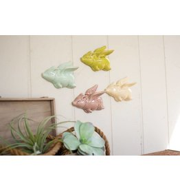 Kalalou Ceramic Flying Pigs