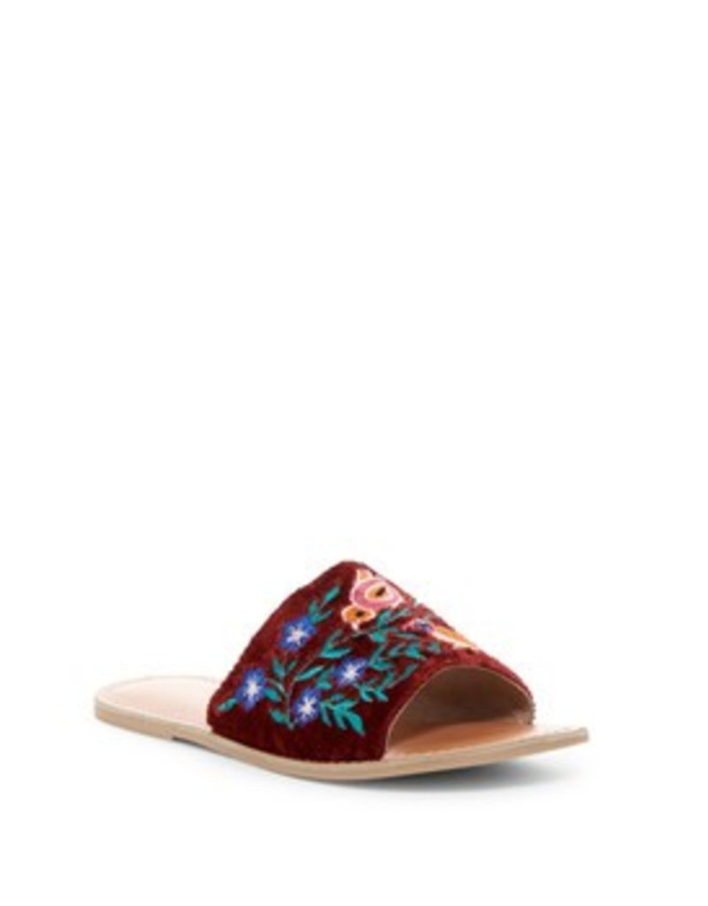Rebels RB-Bertie Flower Embroidered Flats