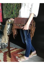 Rich McCoy Fringe Leather Clutch