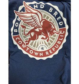 Cowtown Republic Flying Bull T-Shirt