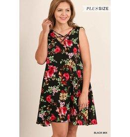 Umgee Sleeveless Print Floral
