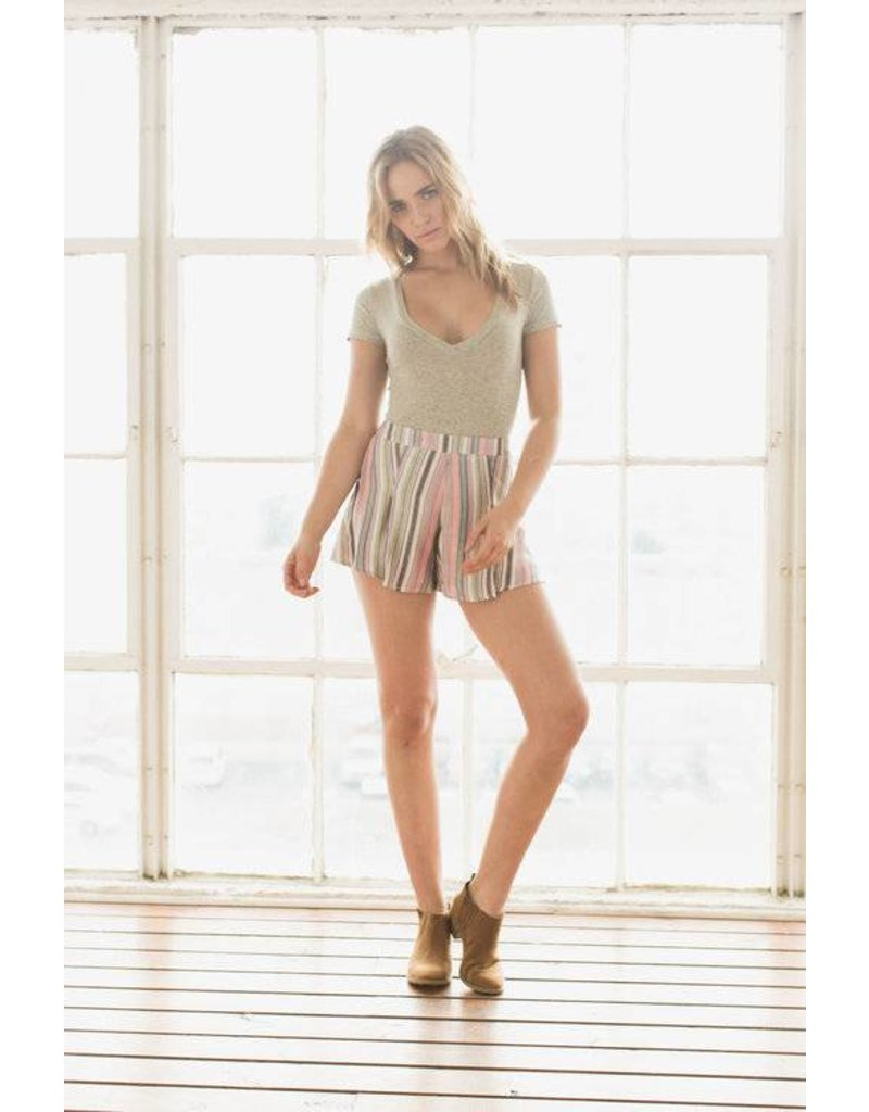 Chloe Oliver/ Ash & Ember Corona V-Neck Bodysuit