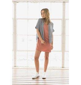 Chloe Oliver/ Ash & Ember Los Feliz Drop Sleeve Button Up