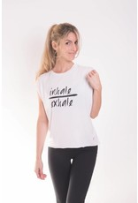 "Words Count ""Inhale/Exhale"" Tank"