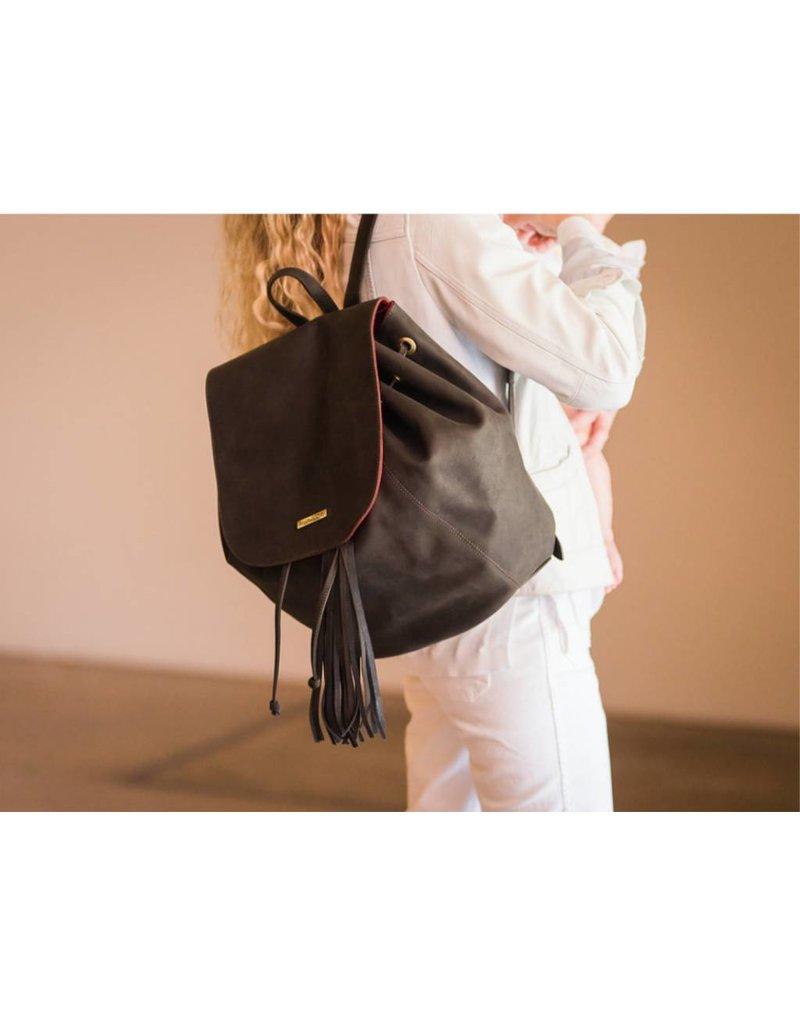 Kelly-Tooke Zilker Trail Bag Choc