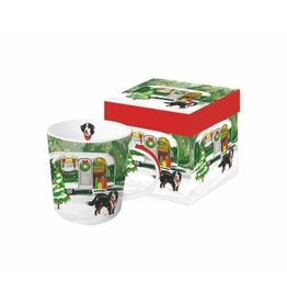 Paperproducts Design Christmas Trailer Boxed Mug