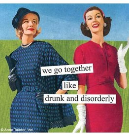 "Paperproducts Design ""Drunk and Disorderly"" Napkins"