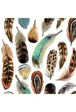 Paperproducts Design Multi Feathers Napkins