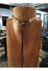 Leather/Concho Choker