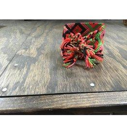 Woven Bracelet w/TQ Concho