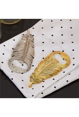 Two's Company Feather Bottle Opener