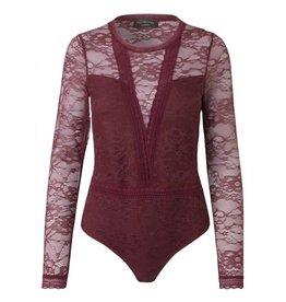 Rosemunde Becky L/S Lace Bodysuit