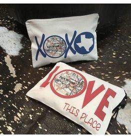 Julio Designs Fort Worth Zippered Bag