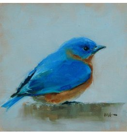 Tea Towel-Eastern Bluebird