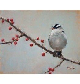 Tea Towel Sparrow