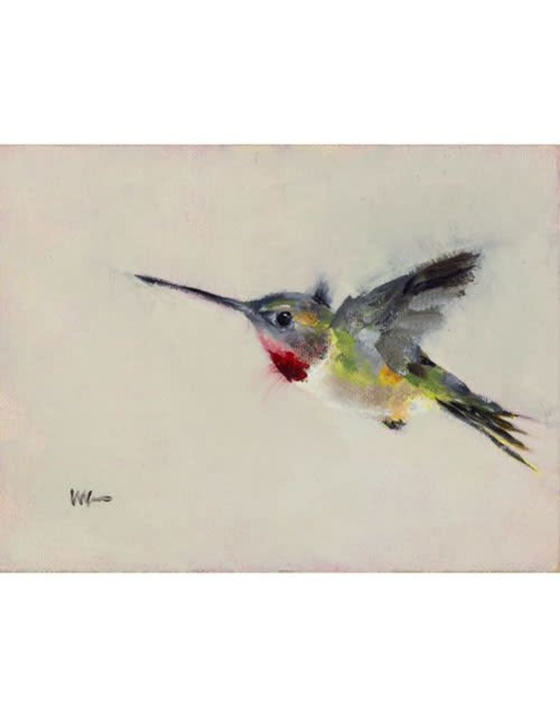 Tea Towel Zoom the Hummingbird