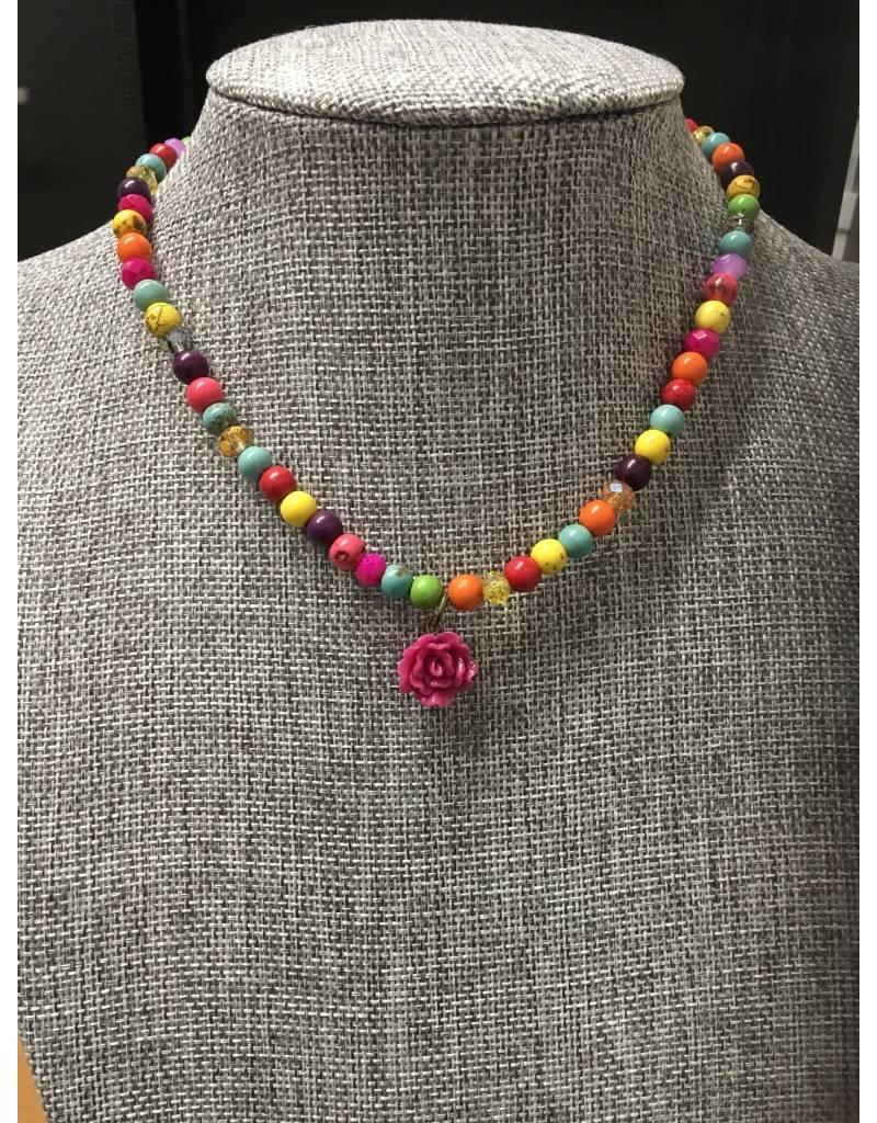 Tres Chicas Childrens Beaded Necklace