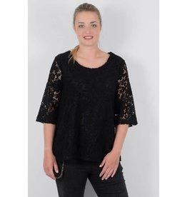 Molly Bracken 1/2 Sleeve Lace Blouse