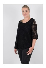 Molly Bracken 1/2 Sleeve Lace Blouse