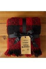 Two's Company Buffalo Plaid Throw Blanket
