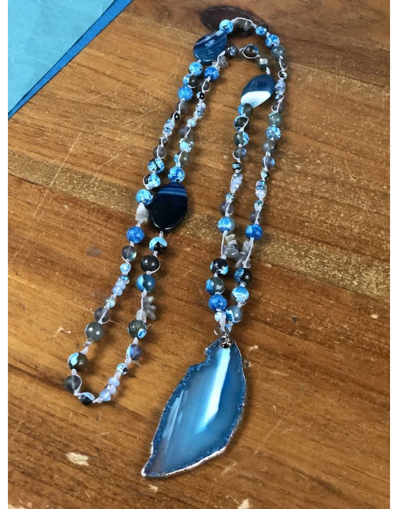Elysian Designs Macrame Necklace
