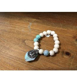 Tres Chicas wood w/ chrysacola chm