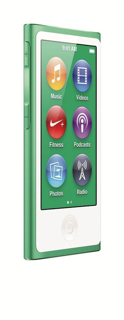 Apple MD478LL/A 16GB iPod Nano - Green