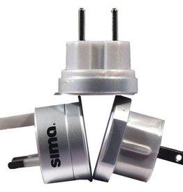 Sima SIMA SIP-3 International Compact Travel Power Plug Set