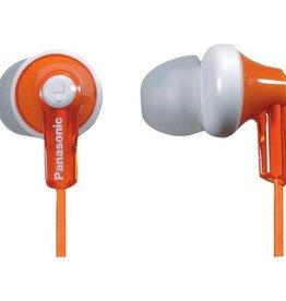 Panasonic PANASONIC RP-HJE120-D HJE120 Earbuds (Orange)
